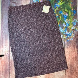 NWT 14th & Union Ribbed Knit Sweater Pencil Skirt